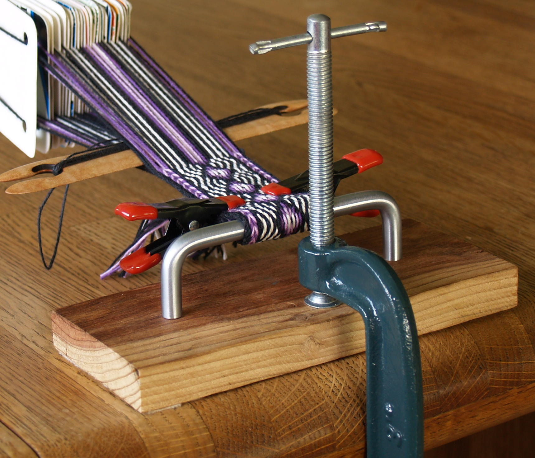 how to build a weaving loom