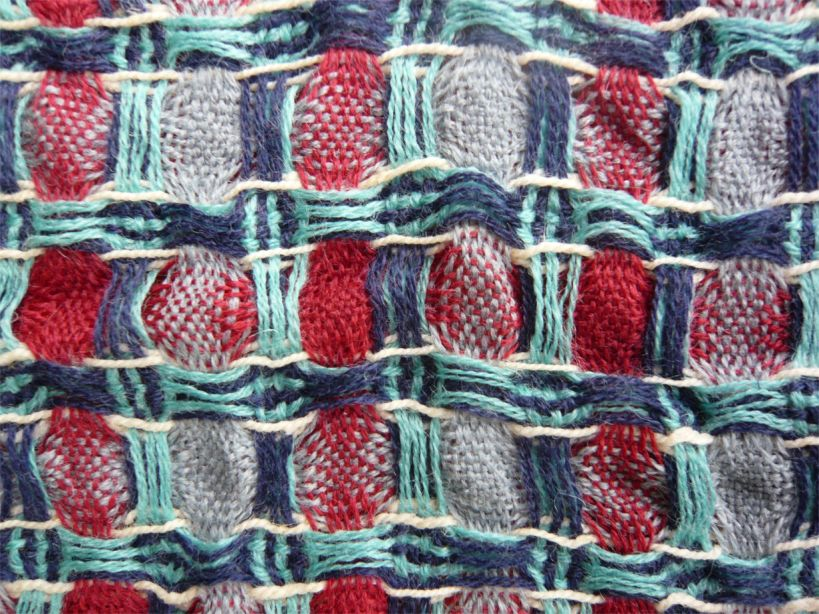 Fadenwechsel/Lace: Double Weave 2-for-1 Scarves